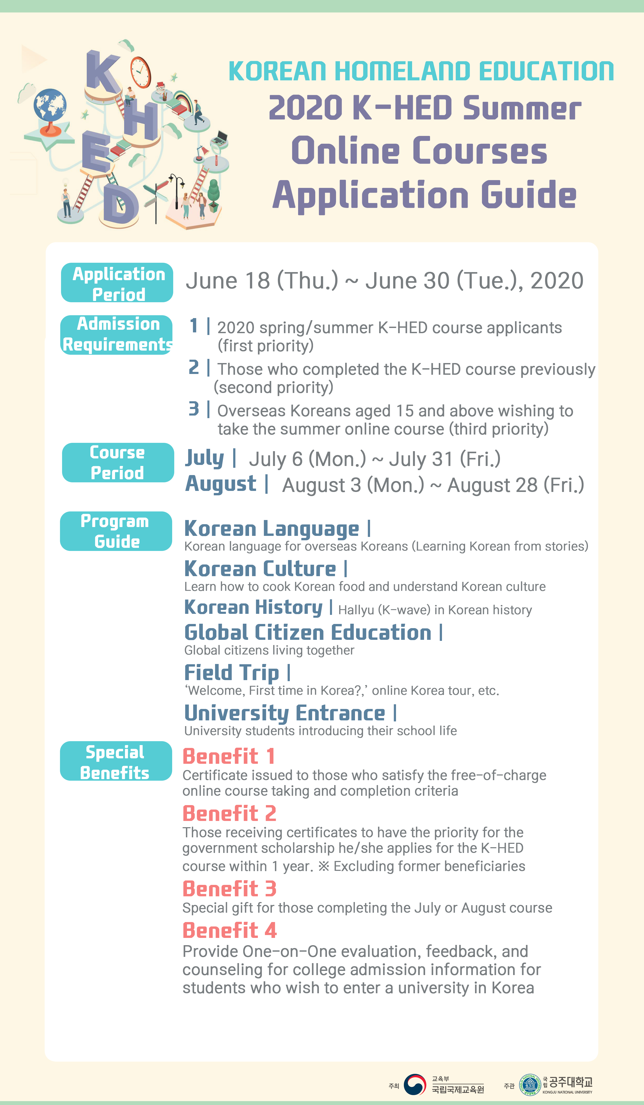 2020 K-HED Summer Online Courses Application Guide(ENG_1).png